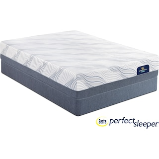 Hynes Plush Queen Mattress and Foundation Set