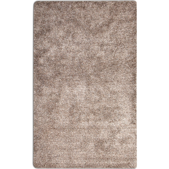 Rugs - Lifestyle Shag 5' x 8' Area Rug - Gray