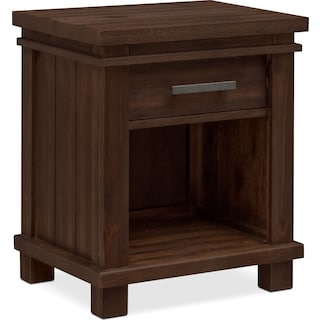 Tribeca Youth Nightstand - Tobacco