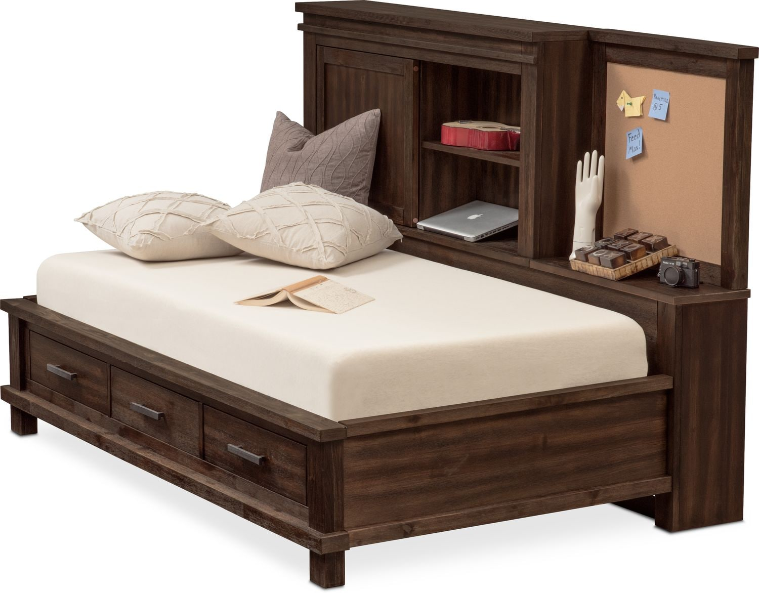 Bedroom Furniture - Tribeca Lounge Storage Bed