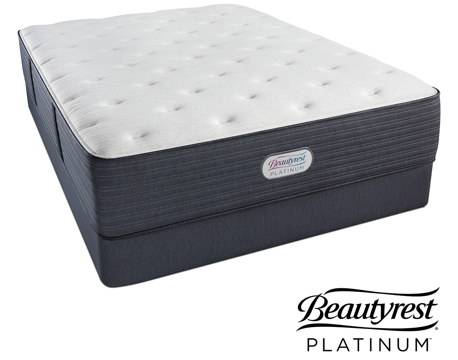 Allston Valley Plush Full Mattress and Low-Profile Foundation Set | Tuggl