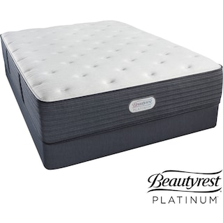 Allston Valley Plush Queen Mattress and Foundation Set