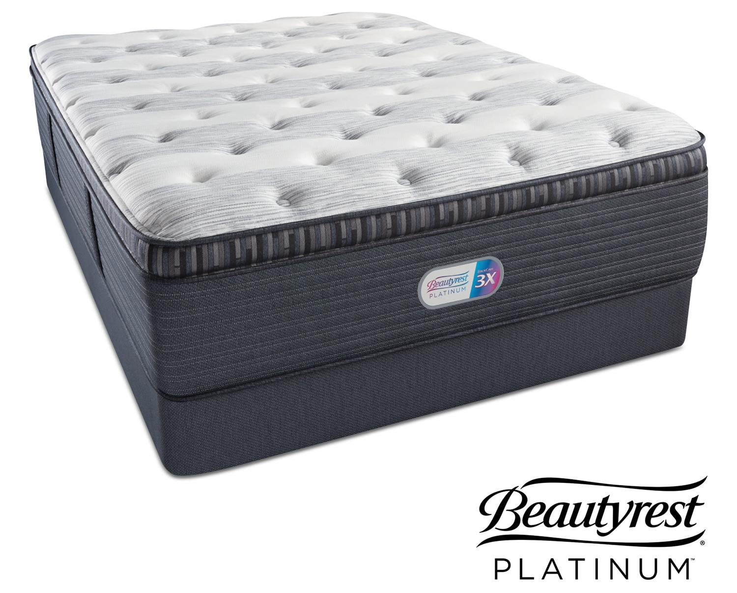 Findlay Terrace Plush Pillowtop Twin Mattress And Foundation Set American Signature Furniture