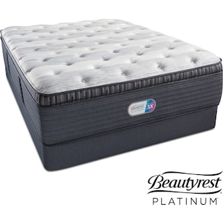 Findlay Terrace Plush Pillowtop Queen Mattress and Foundation Set