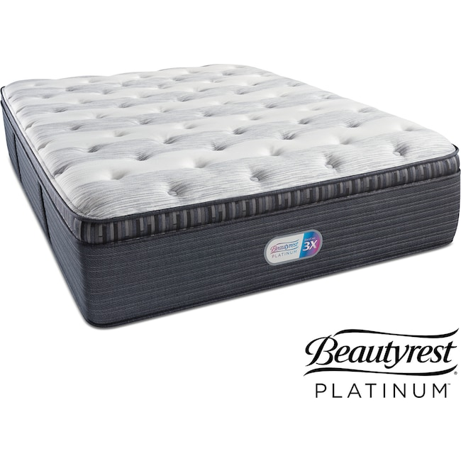Mattresses and Bedding - Findlay Terrace Plush Pillowtop Queen Mattress
