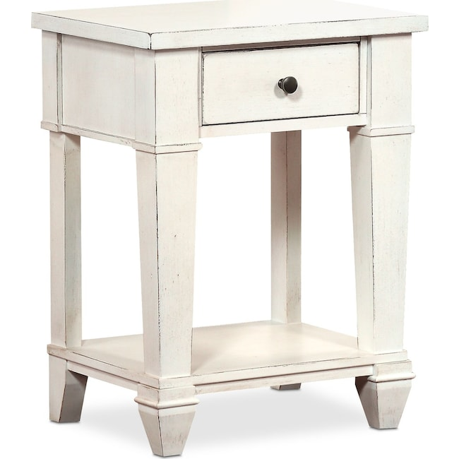 Bedroom Furniture - Waverly Nightstand - White