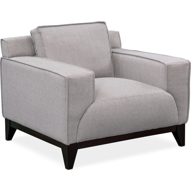Living Room Furniture - Wynn Chair - Gray