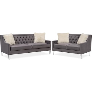 Chloe Sofa and Loveseat Set