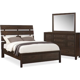 Hampton 5-Piece Queen Bedroom Set - Cocoa