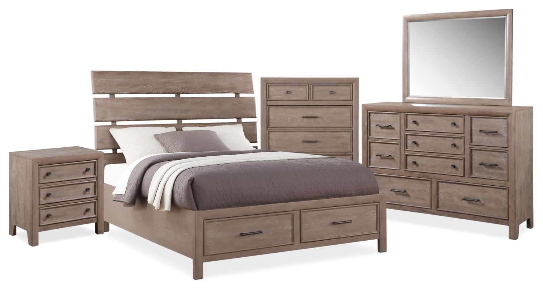 The Hampton Bedroom Collection