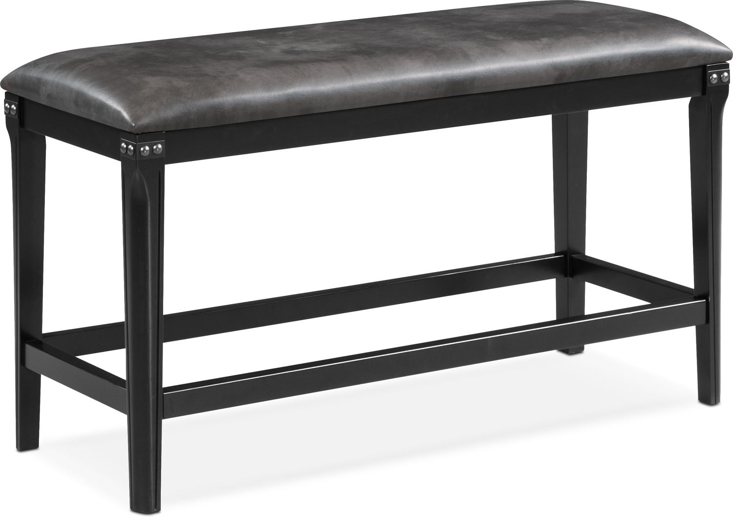 Newcastle Counter Height Bench   Gray ...
