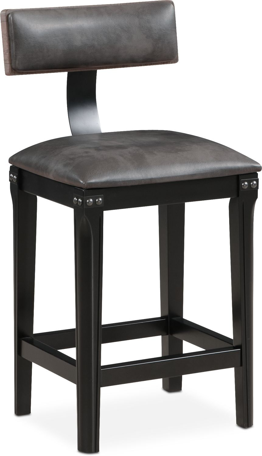 $109.99 Newcastle Counter Height Stool   Gray