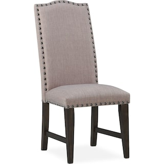 Hampton Upholstered Side Chair - Cocoa