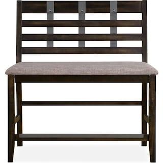 Hampton Counter-Height Bench
