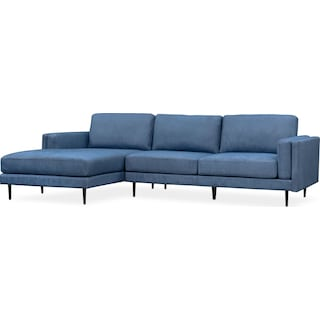West End 2-Piece Sectional with Chaise