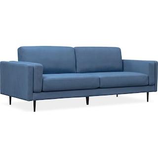 """West End 96"""" Sofa - Blue"""