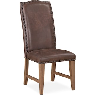 Hampton Upholstered Dining Chair - Sandstone