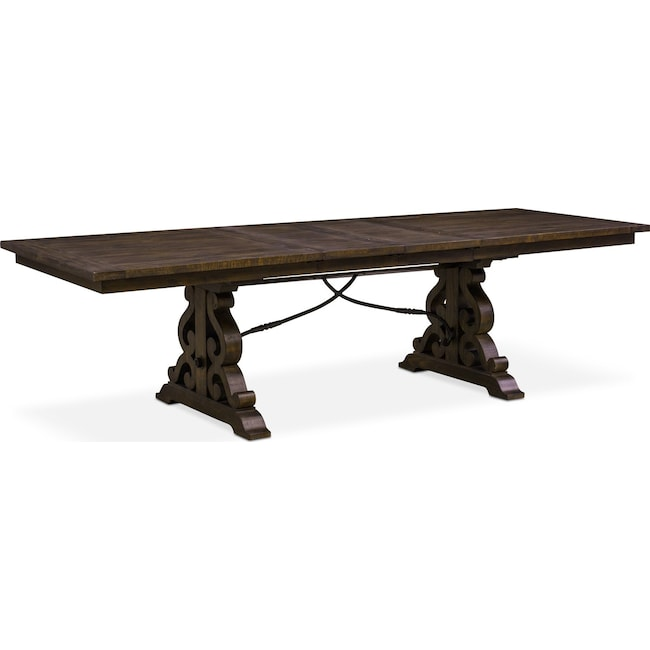 Dining Room Furniture - Charthouse Rectangular Dining Table - Charcoal