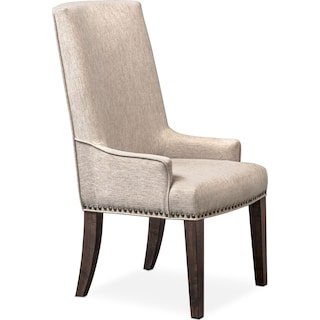 Charthouse Host Chair - Charcoal
