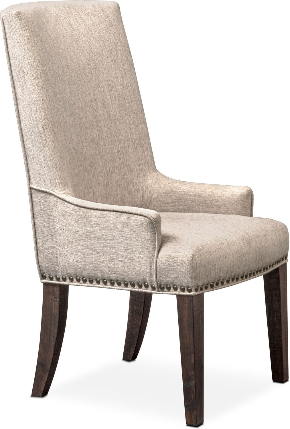 Charthouse Host Chair   Charcoal