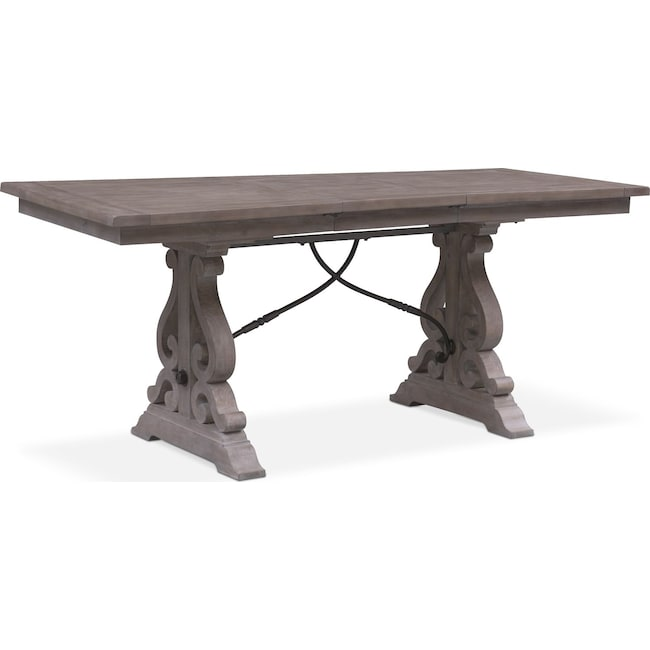 Dining Room Furniture - Charthouse Counter-Height Dining Table - Gray