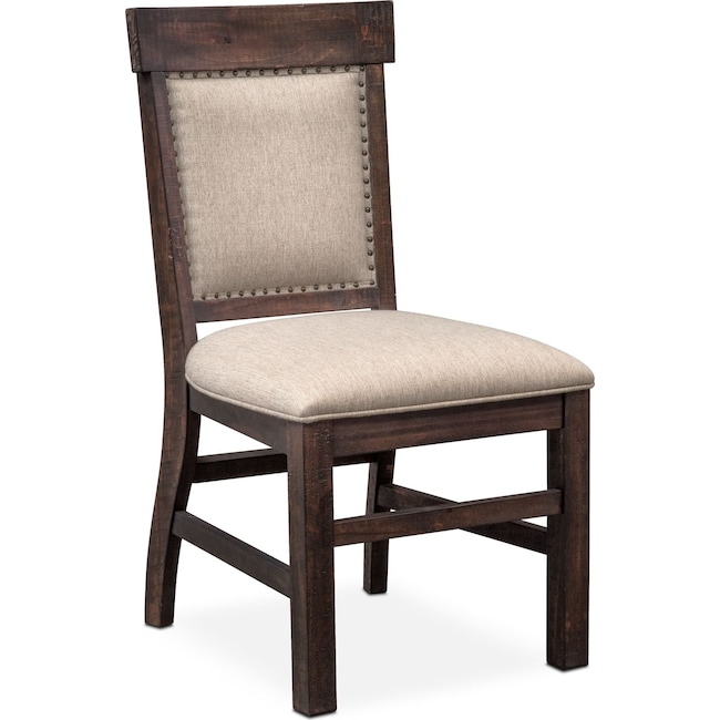 Dining Room Furniture - Charthouse Upholstered Side Chair - Charcoal