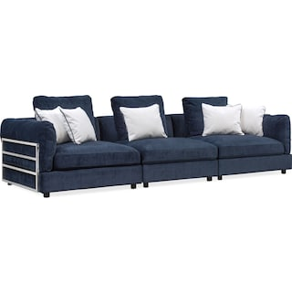 Lavo 3-Piece Sectional - Ink
