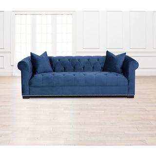 Couture Sofa - Indigo