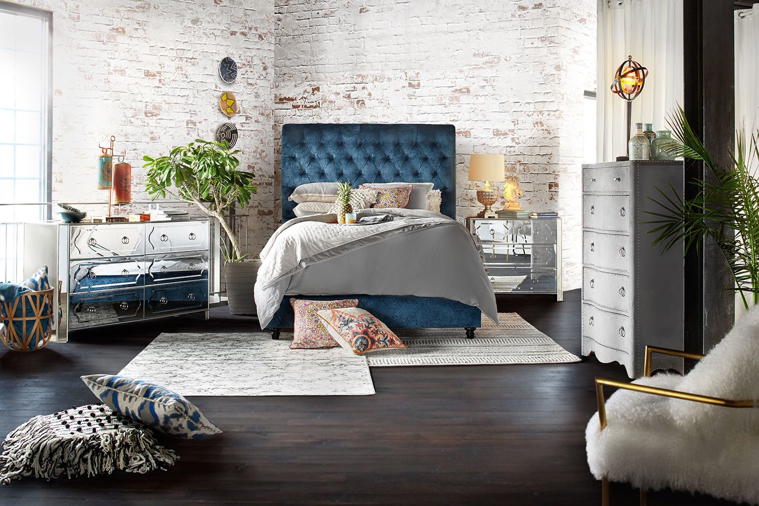 The Diana Bedroom Collection | American Signature Furniture