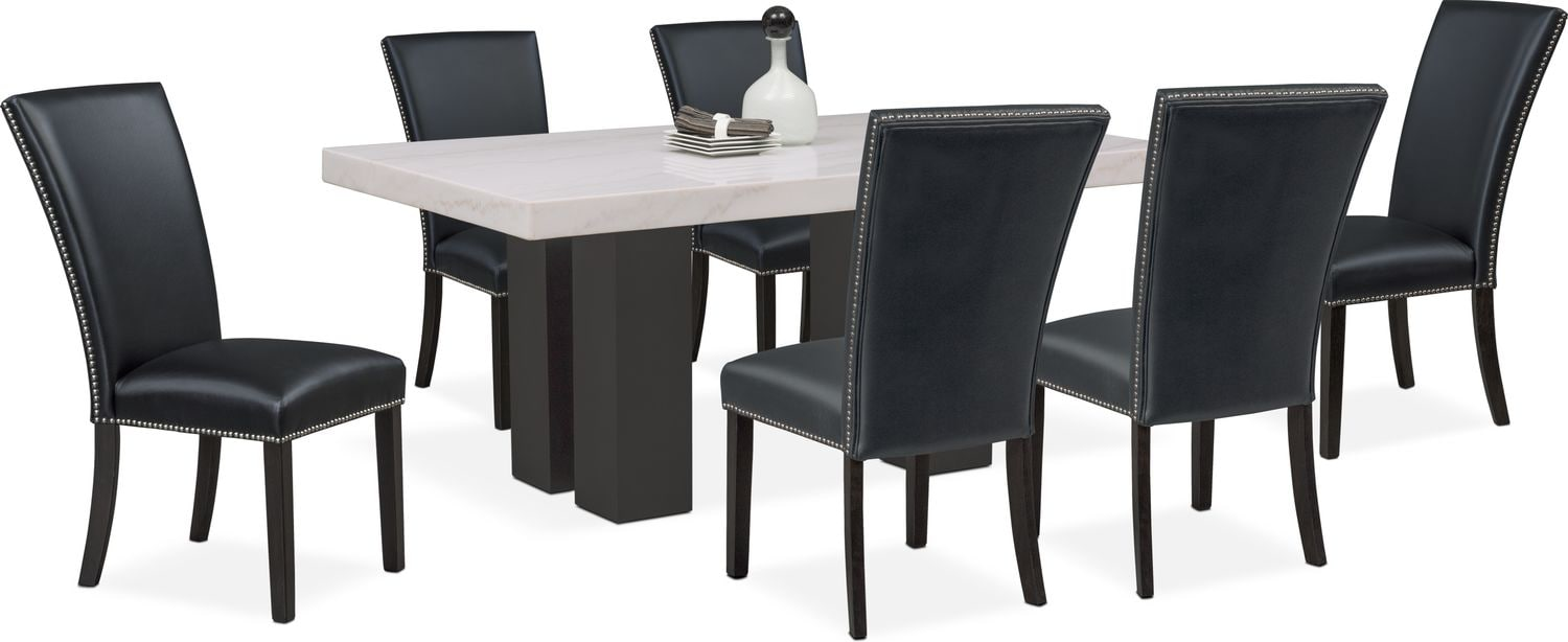 Dining Room Furniture - Artemis 7-Piece Dining Room