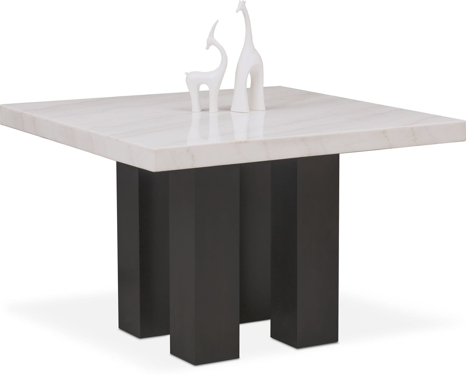 Dining Room Furniture - Artemis Marble Counter-Height Dining Table