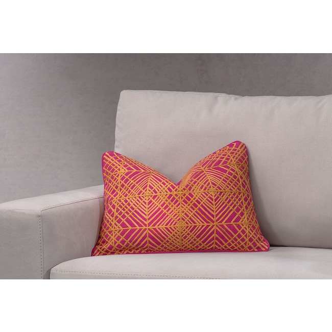 Accent and Occasional Furniture - Trela Decorative Pillow - Fuchsia