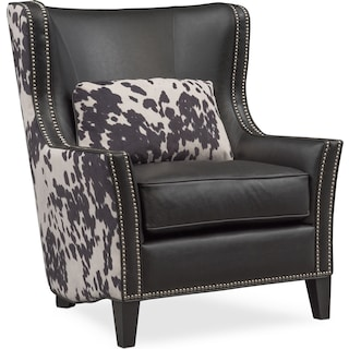 Santa Fe Accent Chair - Cowhide