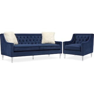 Chloe Sofa and Chair Set