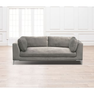 Aaron Sofa - Flannel | American Signature Furniture