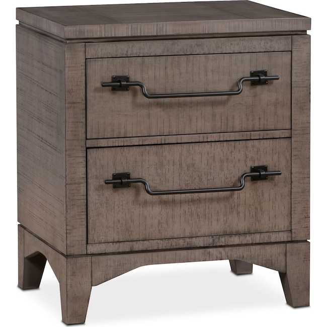 Bedroom Furniture - Gristmill Nightstand