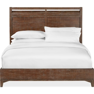 Gristmill King Bed - Cocoa