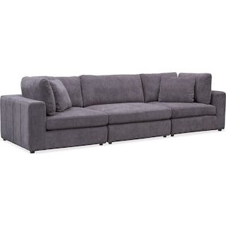Chill 3-Piece Sectional - Gray