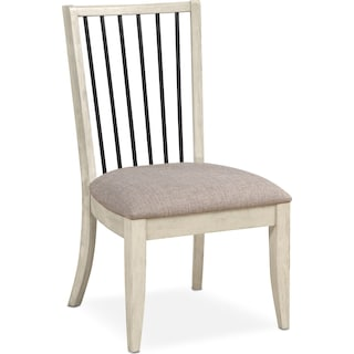 Gristmill Side Chair - Linen