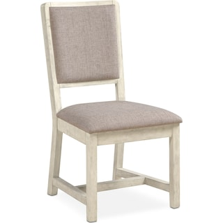 Gristmill Upholstered Side Chair - Linen