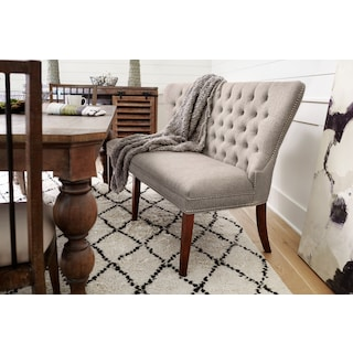 Gristmill Banquette - Cocoa
