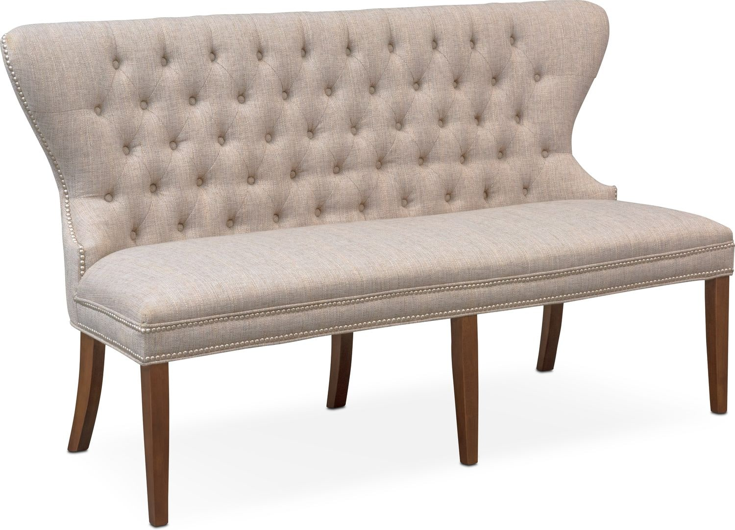 Accent and Occasional Furniture - Gristmill Banquette - Cocoa