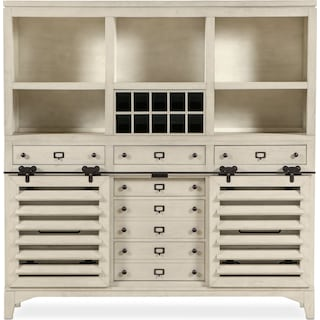 Gristmill Buffet and Hutch - Linen