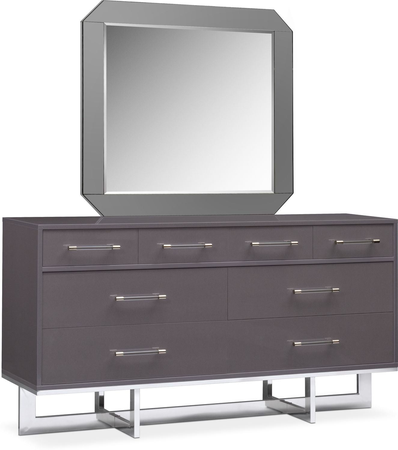 Bedroom Furniture - Concerto Dresser and Mirror