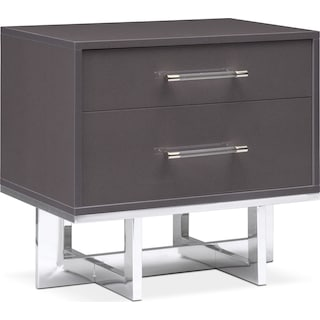 Concerto Nightstand - Gray