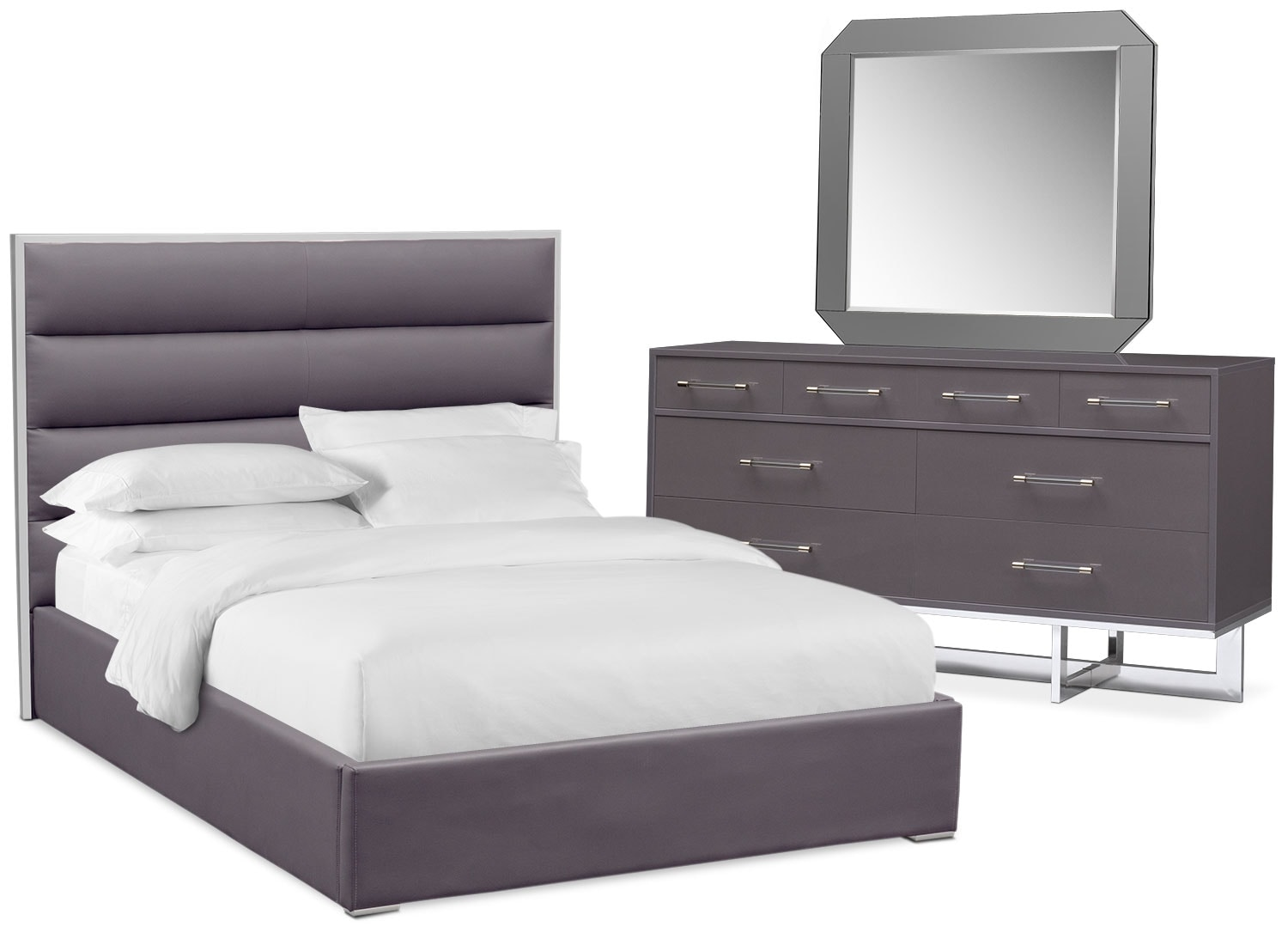 Concerto 5-Piece Bedroom Set with Dresser and Mirror | American ...