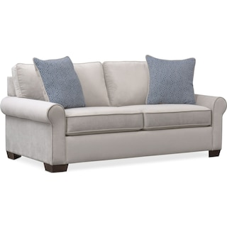 Blake Full Innerspring Sleeper Loveseat - Gray