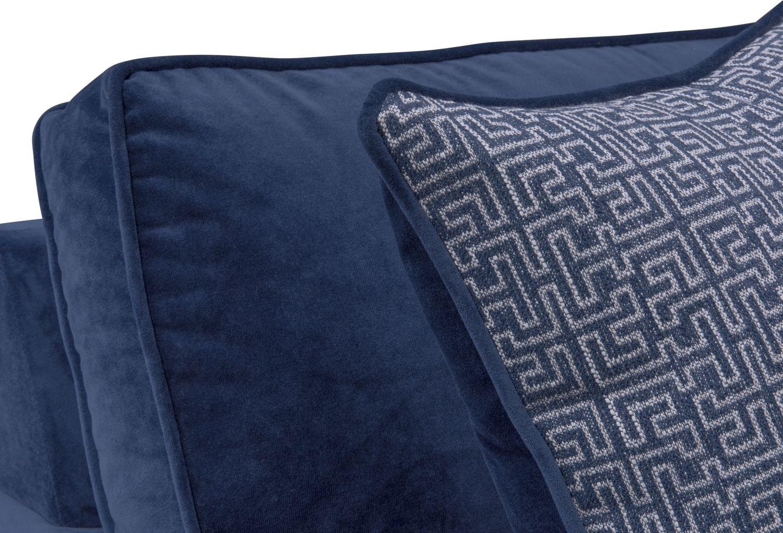 Blake Twin Memory Foam Sleeper Chair And A Half Indigo