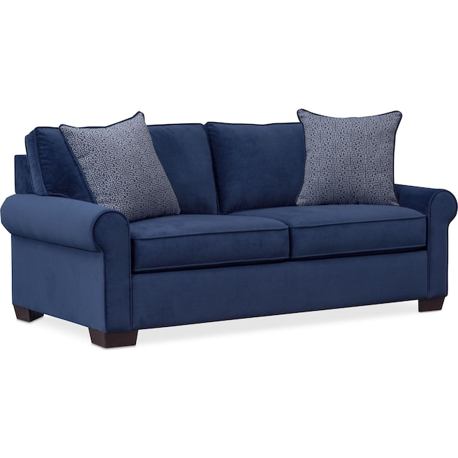 Living Room Furniture - Blake Full Sleeper Loveseat