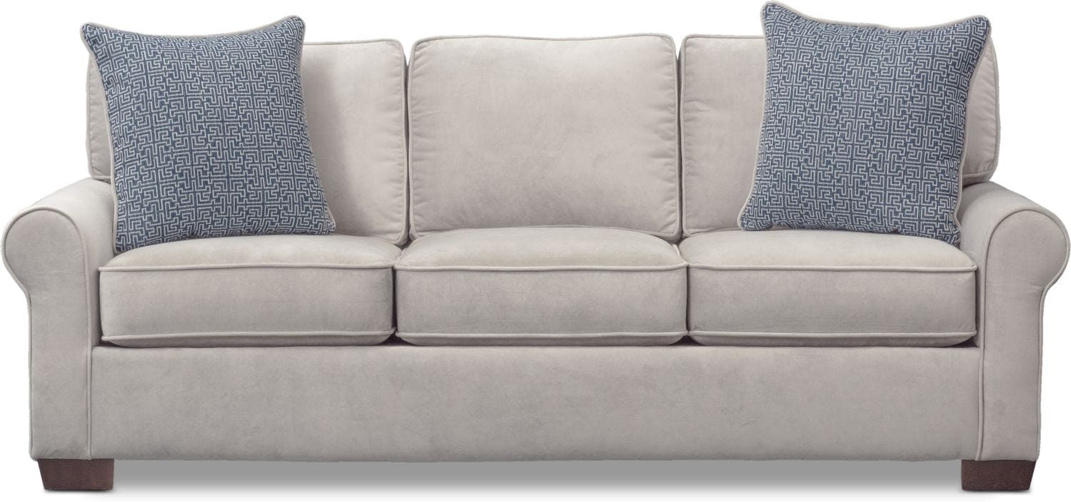 Blake Queen Innerspring Sleeper Sofa - Gray